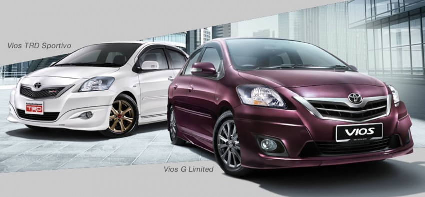 Toyota Vios enhanced for 2012 – RM73k to RM92k Image #113849