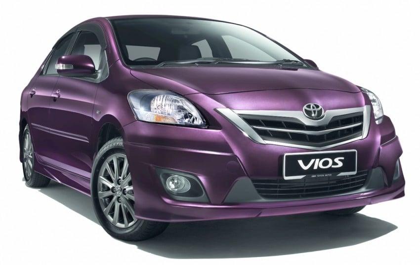 Toyota Vios enhanced for 2012 – RM73k to RM92k Image #113893