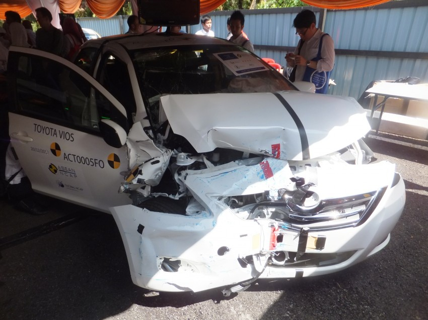 ASEAN NCAP first phase results released for eight models tested – Ford Fiesta and Honda City get 5 stars Image #151955