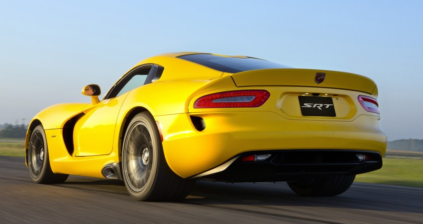 2013 SRT Viper: more photos, prices released Image #130472