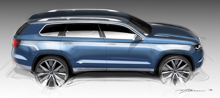 Volkswagen to debut 7-seater SUV concept at Detroit Image #149393