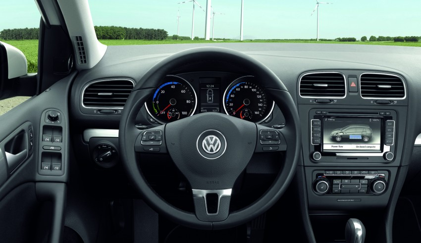 Electric Volkswagen Golf Blue-E-Motion prototype – a preview test drive in Wolfsburg, Germany Image #127808