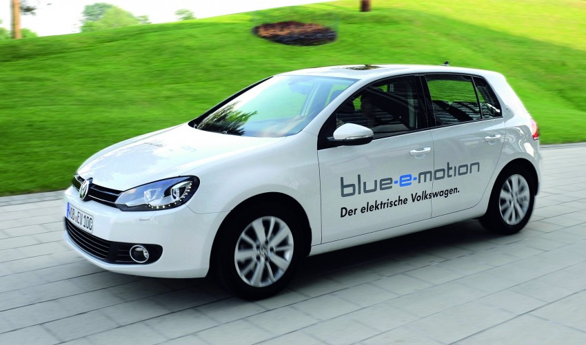 Electric Volkswagen Golf Blue-E-Motion prototype – a preview test drive in Wolfsburg, Germany Image #127800