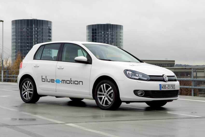 Electric Volkswagen Golf Blue-E-Motion prototype – a preview test drive in Wolfsburg, Germany Image #127804