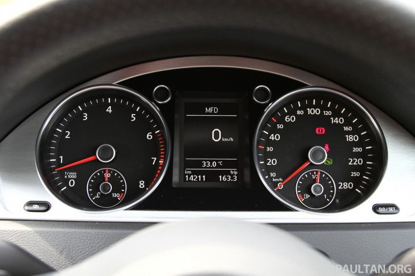 Volkswagen Passat CC R-Line 3.6L Test Drive Review Image #128134