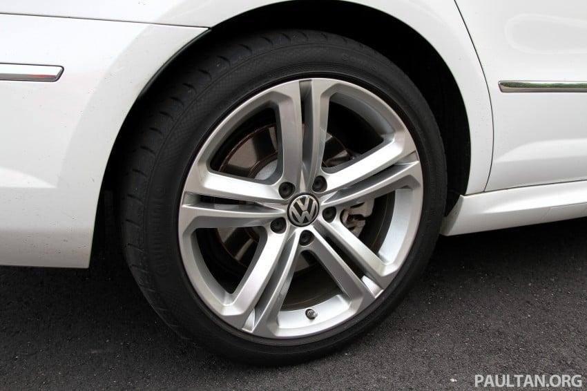 Volkswagen Passat CC R-Line 3.6L Test Drive Review Image #128163