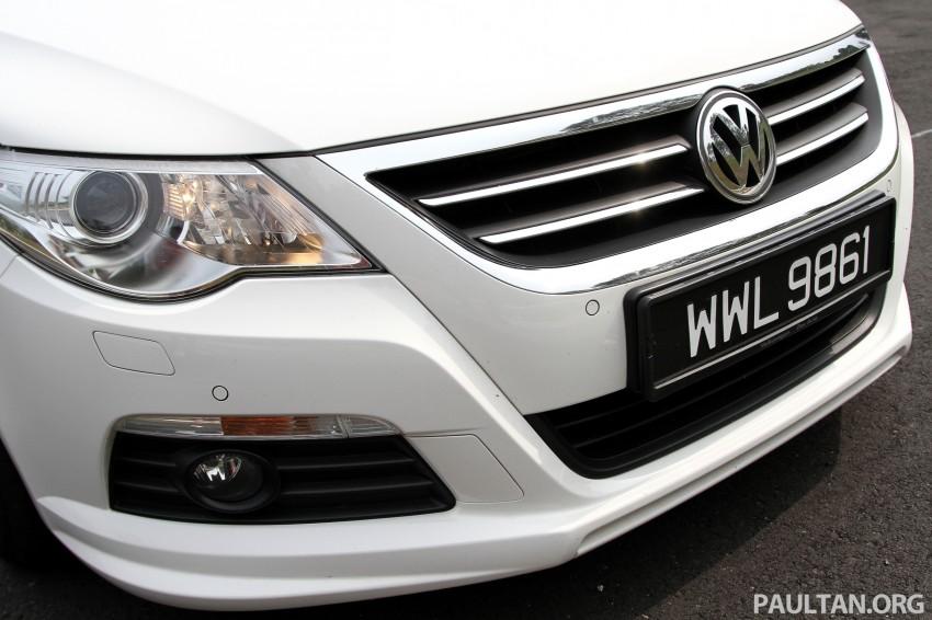 Volkswagen Passat CC R-Line 3.6L Test Drive Review Image #128166