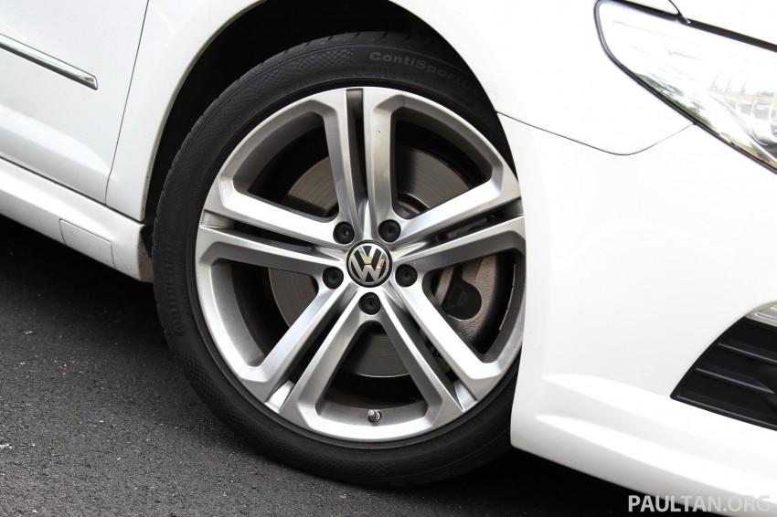 Volkswagen Passat CC R-Line 3.6L Test Drive Review Image #128170