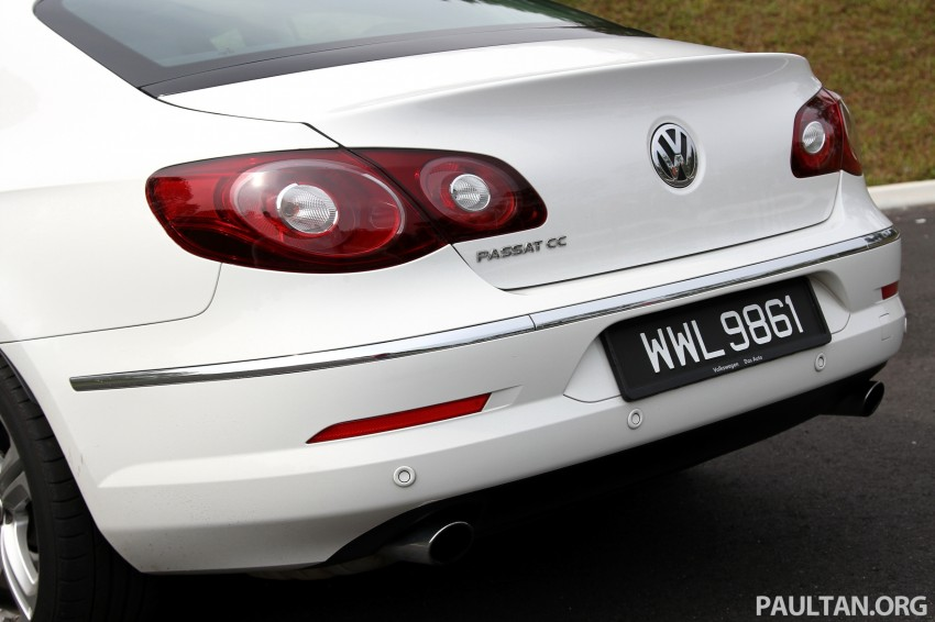 Volkswagen Passat CC R-Line 3.6L Test Drive Review Image #128173