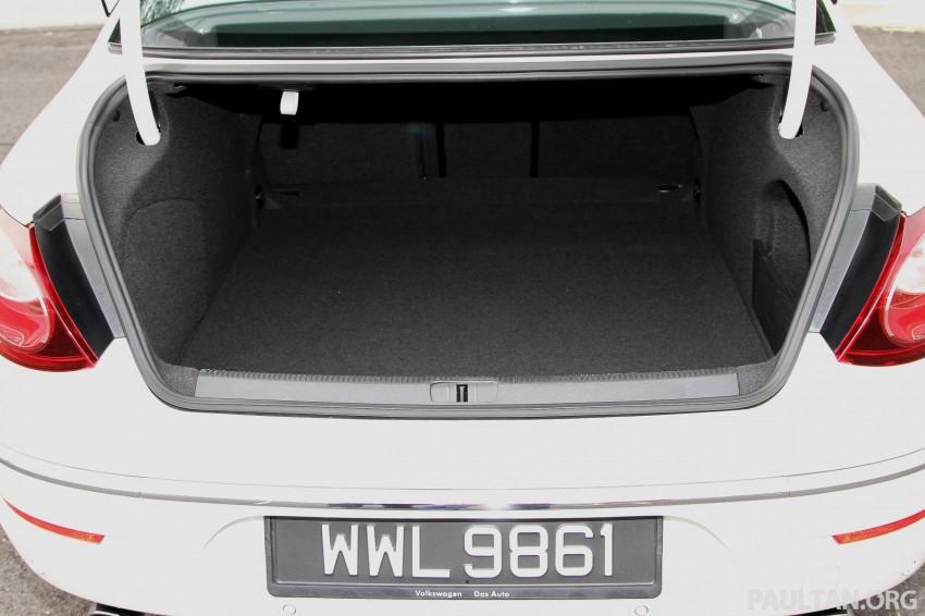 Volkswagen Passat CC R-Line 3.6L Test Drive Review Image #128175
