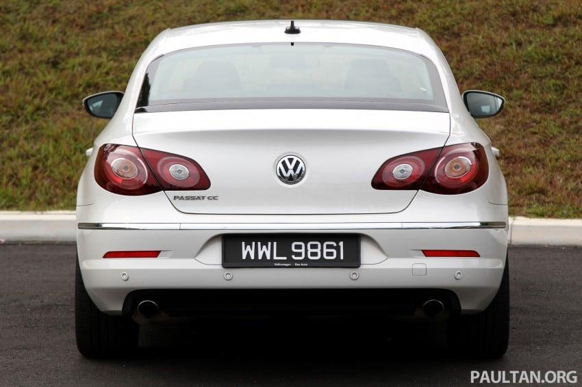 Volkswagen Passat CC R-Line 3.6L Test Drive Review Image #128177