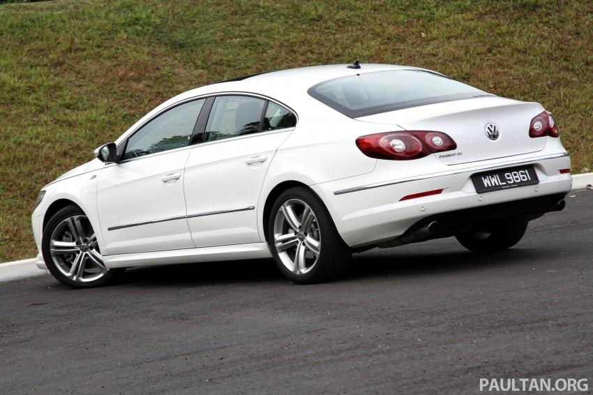 Volkswagen Passat CC R-Line 3.6L Test Drive Review Image #128179