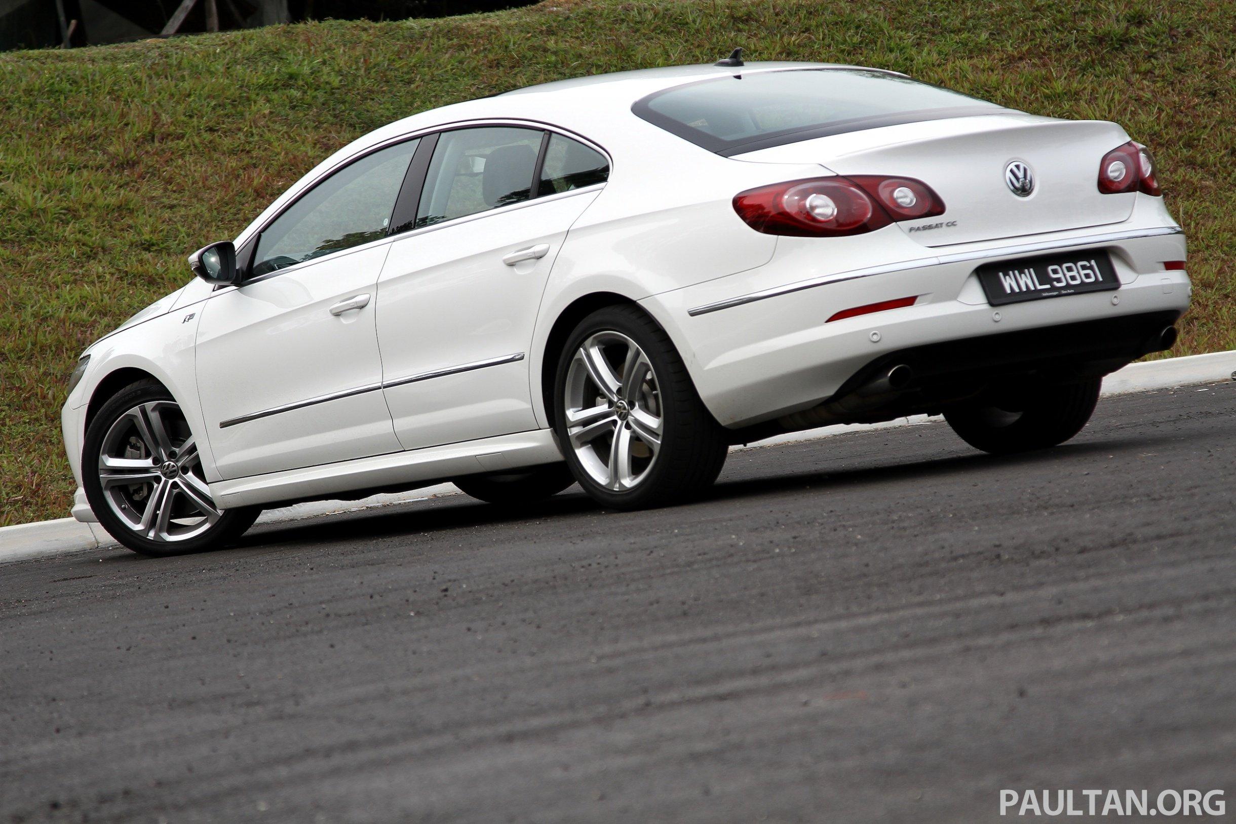 Volkswagen Passat CC R-Line 3.6L Test Drive Review Image ...