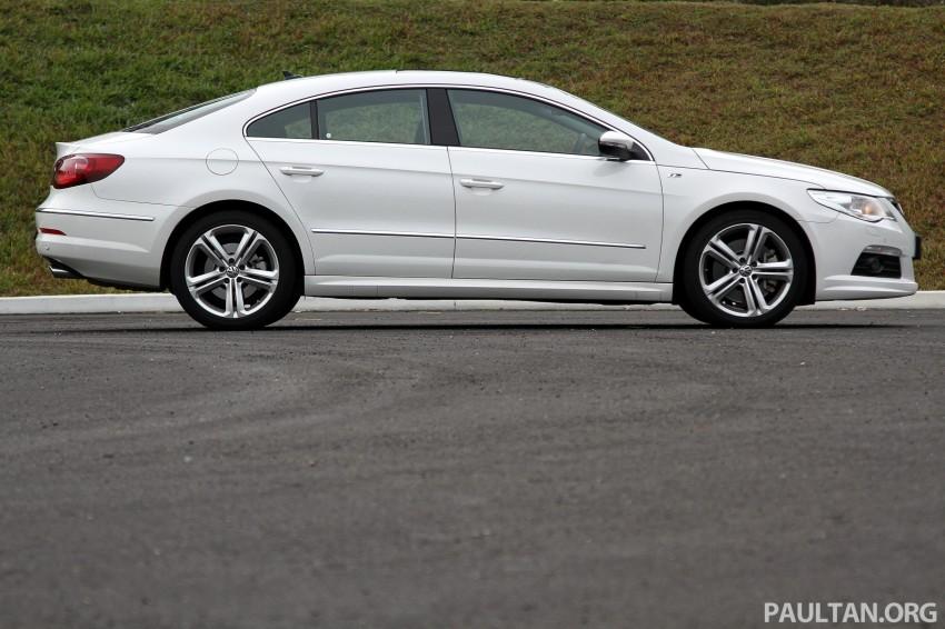 Volkswagen Passat CC R-Line 3.6L Test Drive Review Image #128181