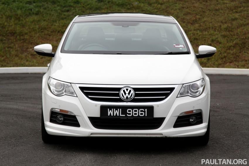 Volkswagen Passat CC R-Line 3.6L Test Drive Review Image #128182
