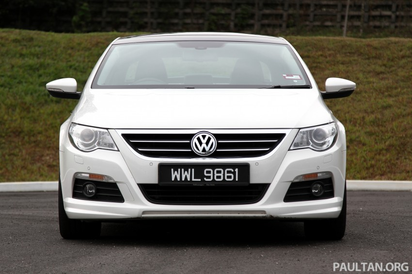 Volkswagen Passat CC R-Line 3.6L Test Drive Review Image #128183