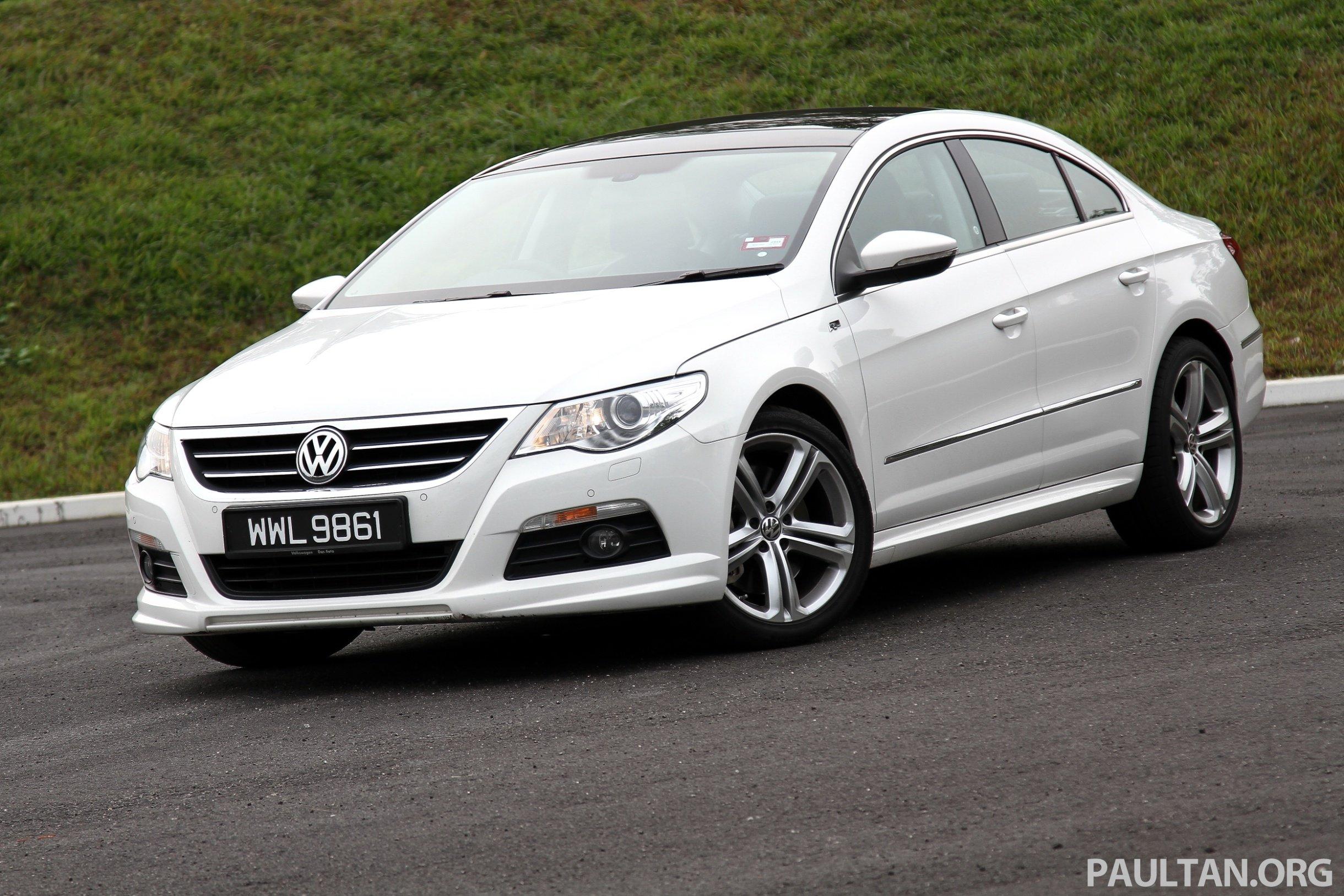 Volkswagen Passat Cc R Line 3 6l Test Drive Review Paul