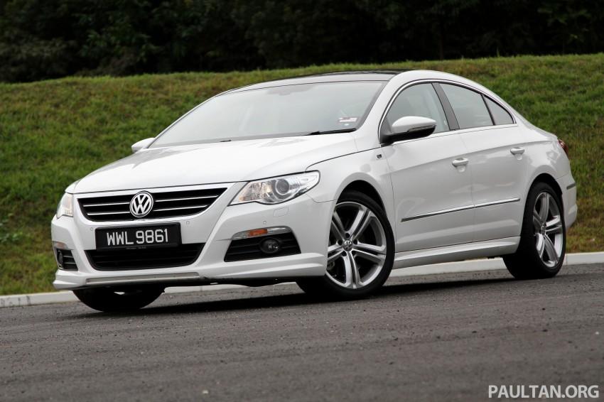 Volkswagen Passat CC R-Line 3.6L Test Drive Review Image #128185