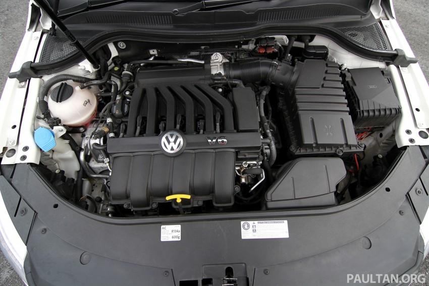 Volkswagen Passat CC R-Line 3.6L Test Drive Review Image #128187