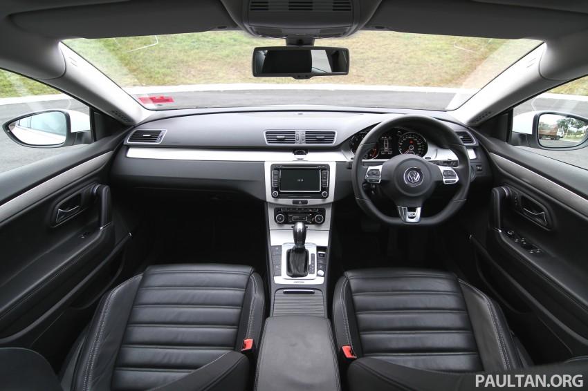 Volkswagen Passat CC R-Line 3.6L Test Drive Review Image #128189