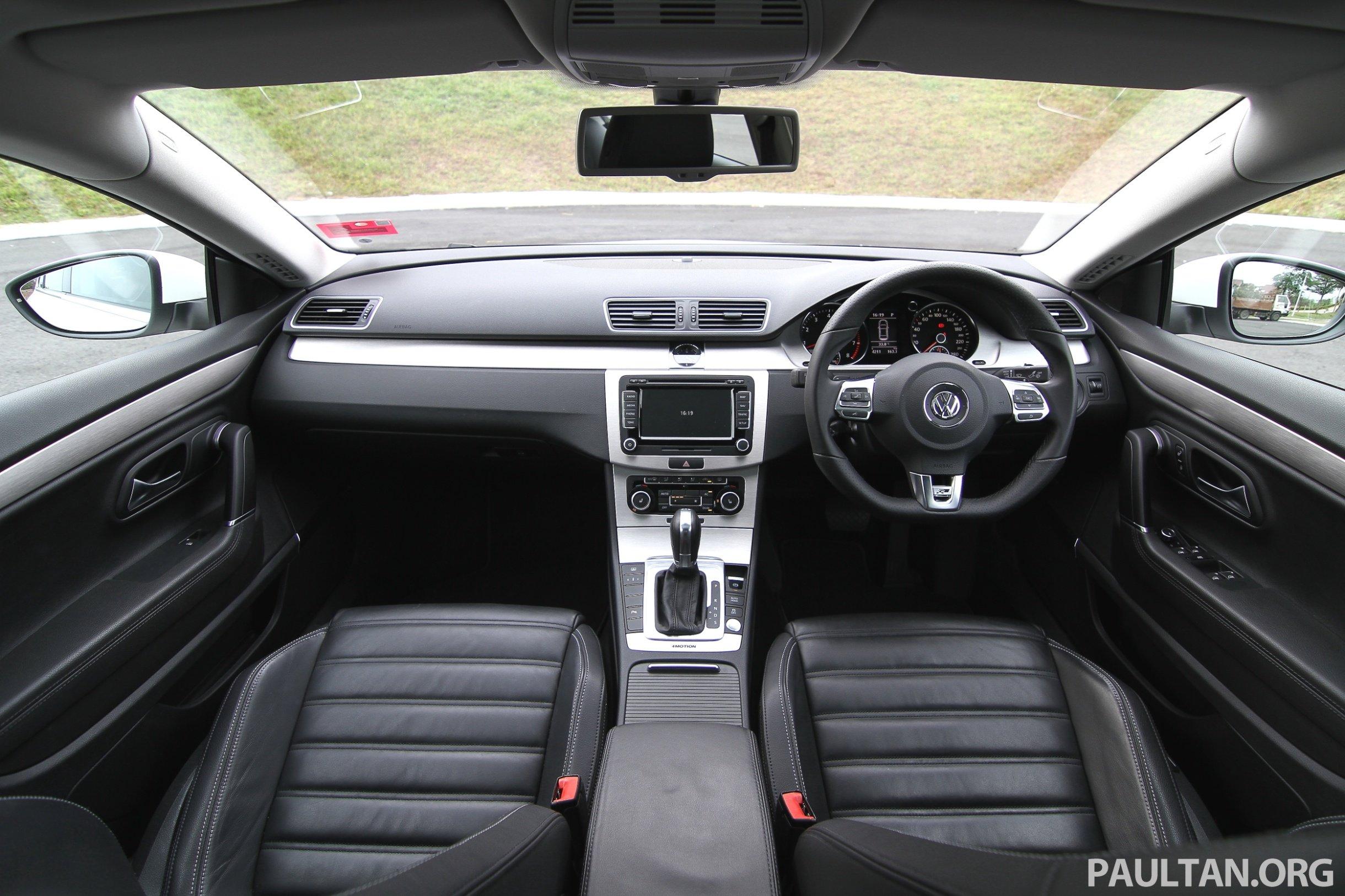 Volkswagen Passat Cc R Line Review 57 Paul Tan S Automotive News