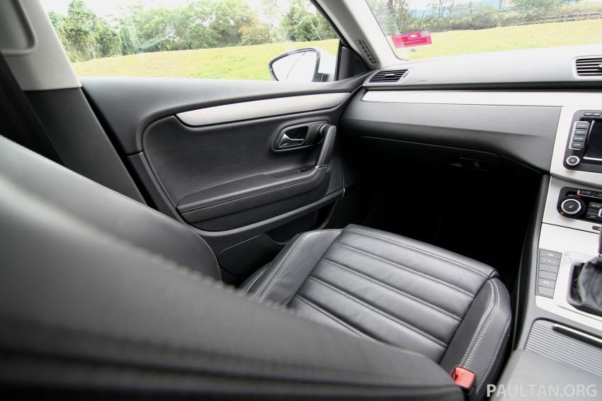 Volkswagen Passat CC R-Line 3.6L Test Drive Review Image #128190