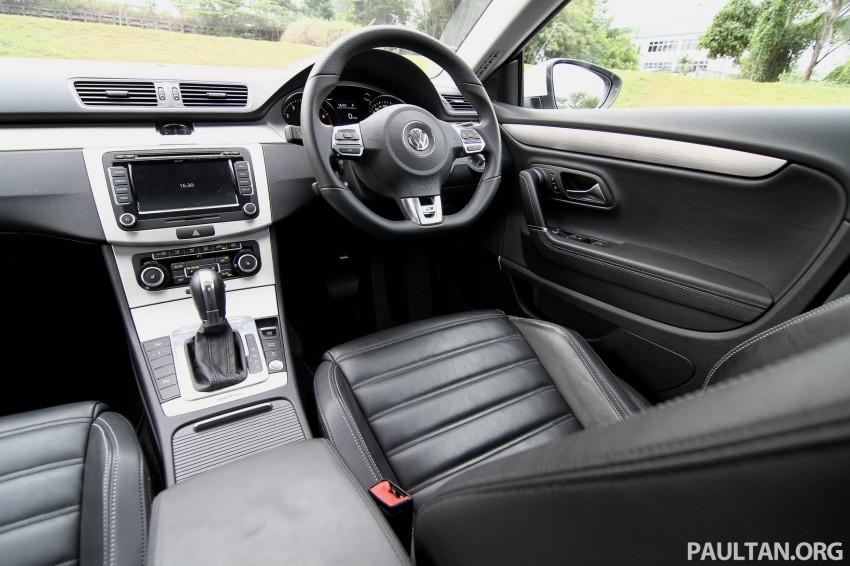 Volkswagen Passat CC R-Line 3.6L Test Drive Review Image #128191