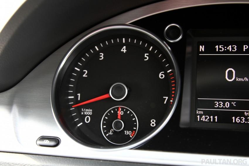 Volkswagen Passat CC R-Line 3.6L Test Drive Review Image #128137