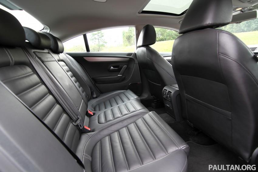 Volkswagen Passat CC R-Line 3.6L Test Drive Review Image #128192