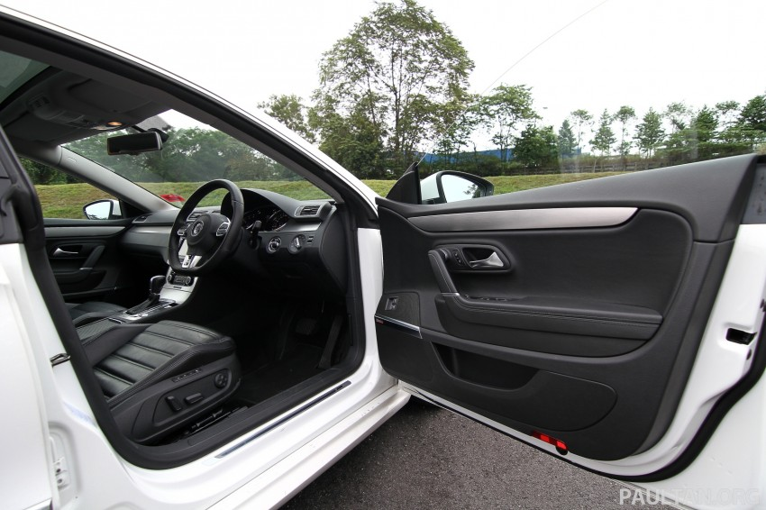Volkswagen Passat CC R-Line 3.6L Test Drive Review Image #128194