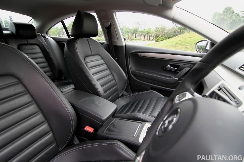Volkswagen Passat CC R-Line 3.6L Test Drive Review Image #128198