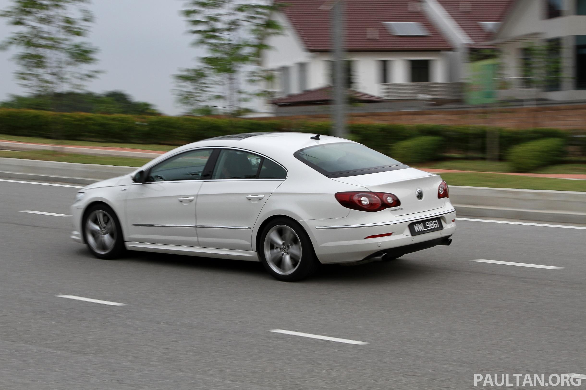 Volkswagen Passat Cc R Line 3 6l Test Drive Review Image