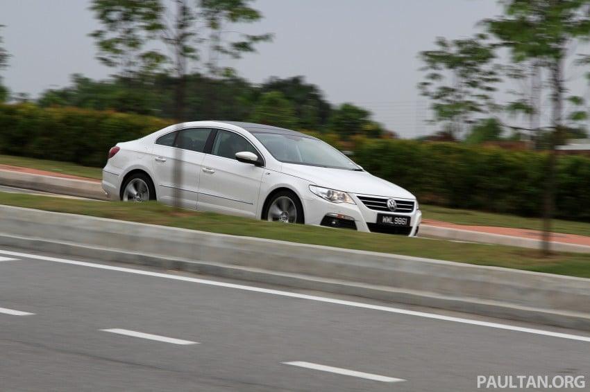 Volkswagen Passat CC R-Line 3.6L Test Drive Review Image #128206