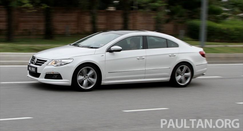 Volkswagen Passat CC R-Line 3.6L Test Drive Review Image #128207