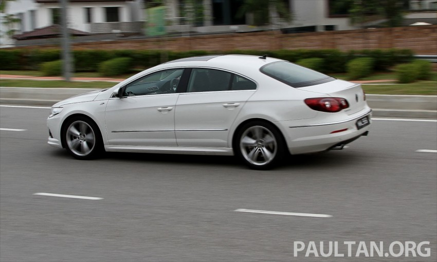 Volkswagen Passat CC R-Line 3.6L Test Drive Review Image #128208