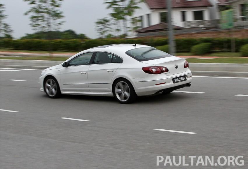 Volkswagen Passat CC R-Line 3.6L Test Drive Review Image #128209