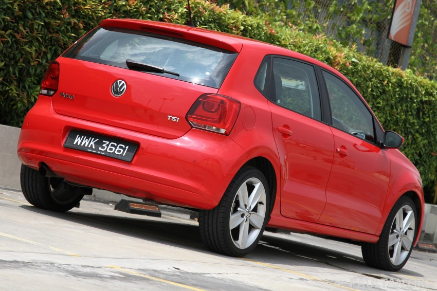 Volkswagen Polo 1.2 TSI Review – worth two Myvis? Image #124281