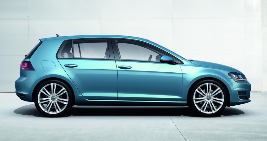2013 Volkswagen Golf Mk7 – first images and details! Image #128863