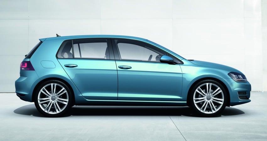 2013 Volkswagen Golf Mk7 – first images and details! Image #128863