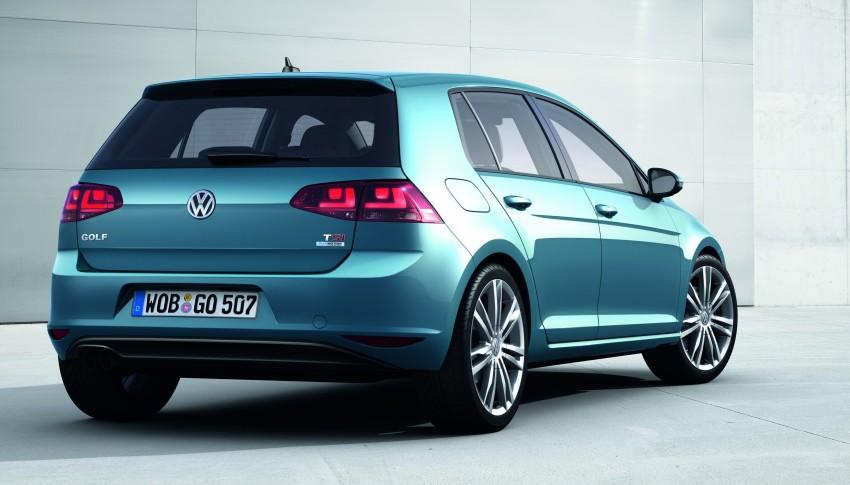 2013 Volkswagen Golf Mk7 – first images and details! Image #128899