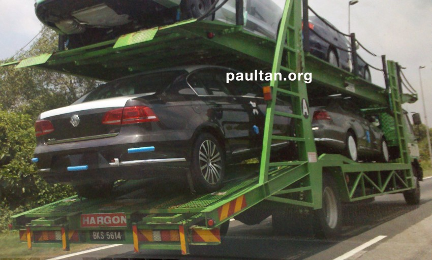 Undisguised VW Jetta and Passat all ready for launch Image #73295