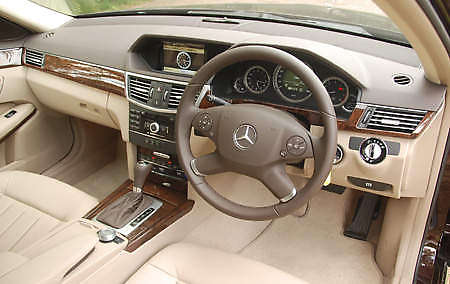 Mercedes Benz E Class W212 Test Drive Review on 2010 mercedes e240 interior