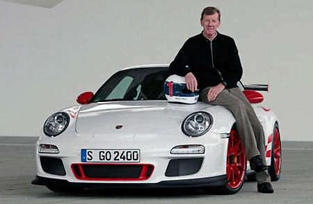Walter Röhrl to race stock standard Porsche 911 GT3 RS in Nürburgring 24 hours Image #19402