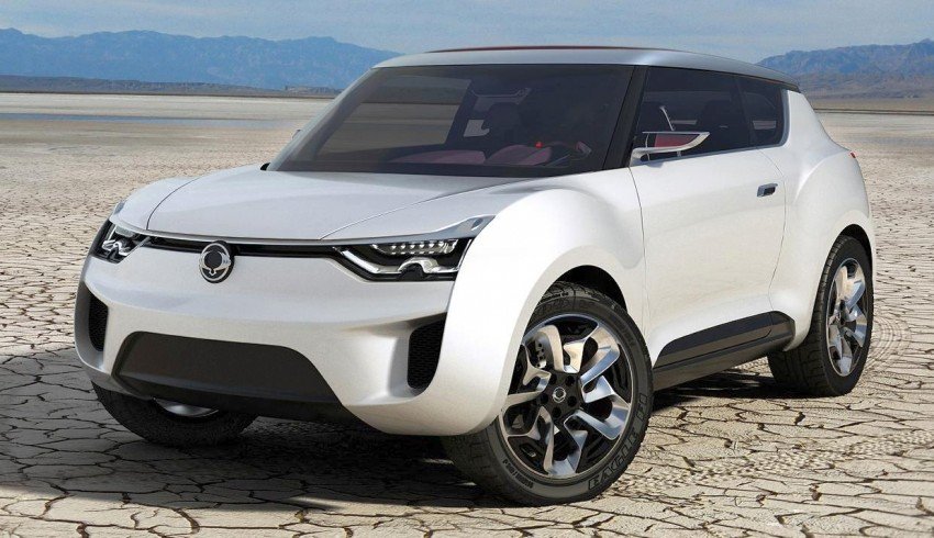 SsangYong XIV-2 Concept – the 'convertible' crossover Image #91675
