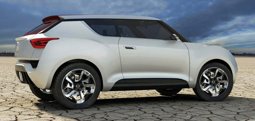 SsangYong XIV-2 Concept – the 'convertible' crossover Image #91678