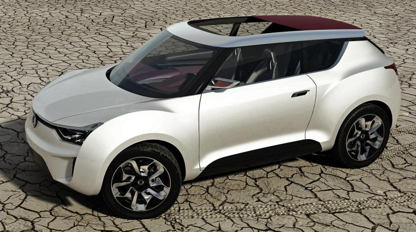 SsangYong XIV-2 Concept – the 'convertible' crossover Image #91679