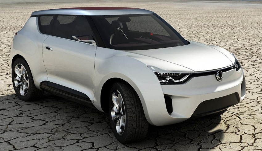 SsangYong XIV-2 Concept – the 'convertible' crossover Image #91672