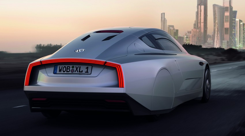 Volkswagen XL1 – two-seater to go into production in 2013 Image #94969