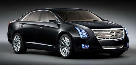 Luxury Cadillac XTS Platinum concept