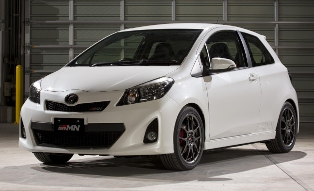 yaris grmn turbo concept